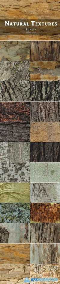 NATURAL TEXTURES OF WOOD & BARK - 2037514
