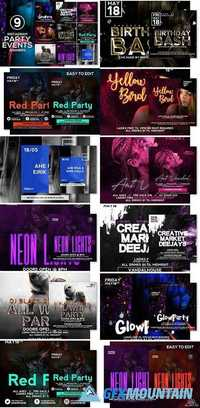 9 Instagram Party/Events Banners 2040499