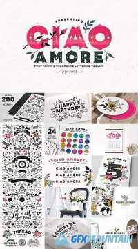 Ciao Amore Decorative Type Kit 2003927