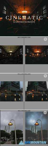 10 Cinematic Style Lightroom Presets 2058390