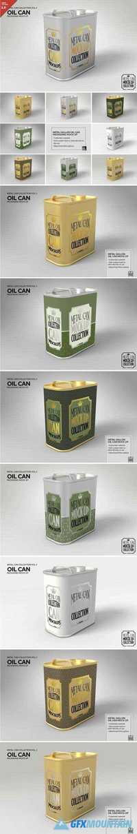METAL OIL GALLON CAN MOCK UP - 1930744