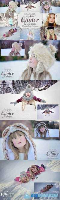 Winter Actions for Photoshop 1844886