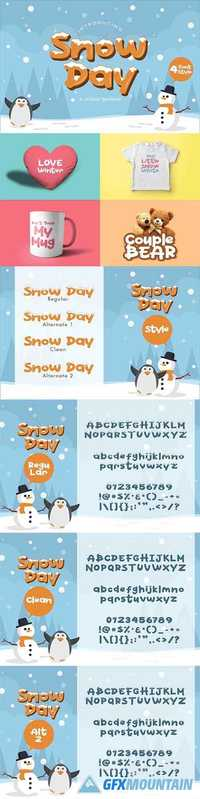 Snow Day Display  2052387