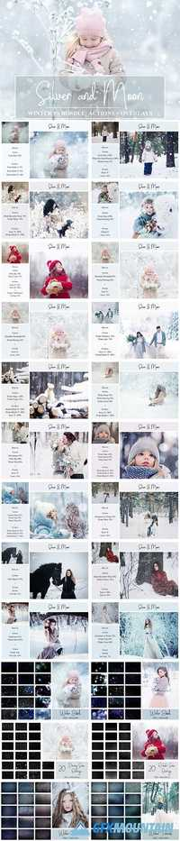WINTER BUNDLE: PS ACTIONS + OVERLAYS - 2052253