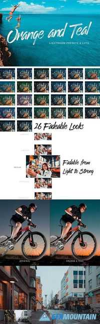 Orange Teal Lightroom Presets and LUTs 21091784