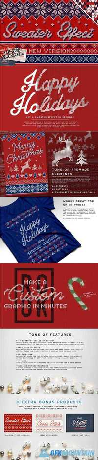 CHRISTMAS SWEATER EFFECT PRO - 2072638