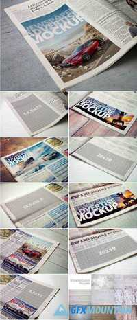 NEWSPAPER ADVERTISE MOCKUP - 2085945