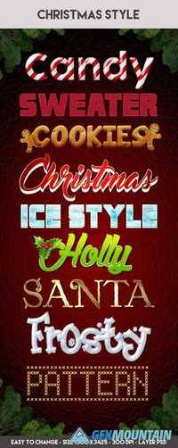 Christmas Styles PSD Templates