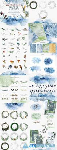 WATERCOLOR ALL SEASONS DESIGNS - 2155014