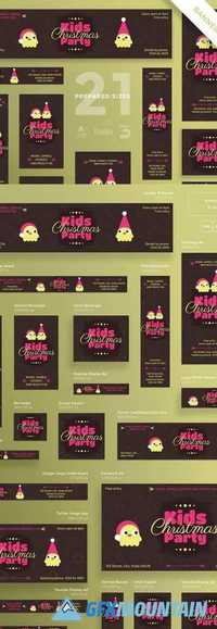 Banners Pack Kids Christmas Party 2074148