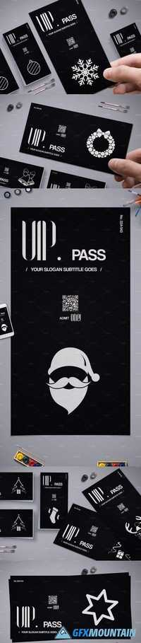 Christmas VIP Pass Card 10 Styles 1949583