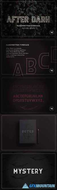 After Dark Typeface  1478964