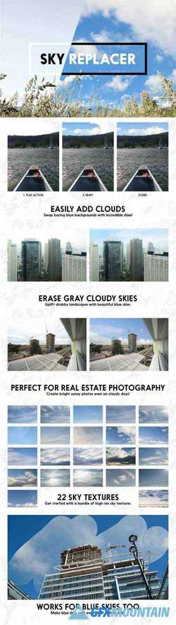 SKY REPLACER PHOTOSHOP ACTIONS - 1961122