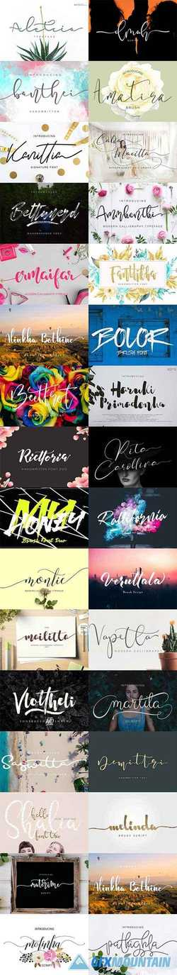 51 Handwritten Fonts Collection 2148749
