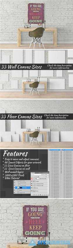 CANVAS MOCKUPS VOL 448 - 1478840