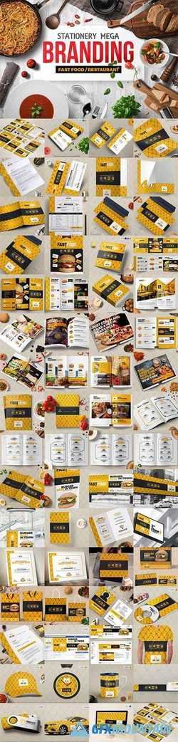 BRANDING IDENTITY FOR FAST FOOD - 2123409