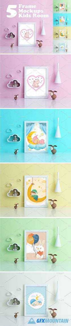 KIDS ROOM FRAME MOCKUPS - 2166321