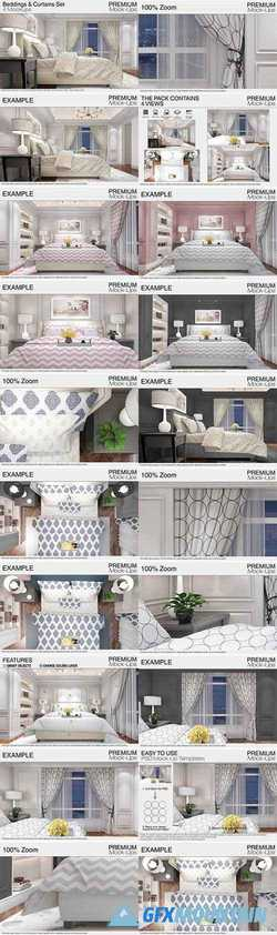 BEDDINGS & CURTAINS SET 2121892