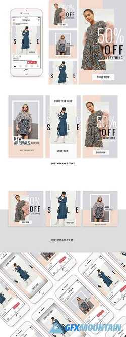 Feminine Fashion Instagram Pack   2177818