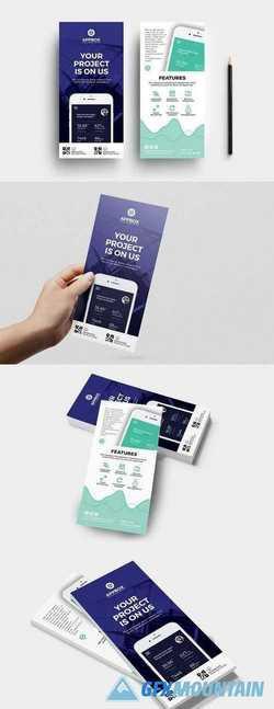 Mobile App DL Card Template 1902835