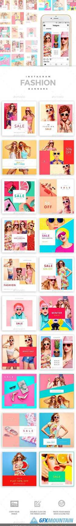 20 - Fashion Instagram Banners 21158757
