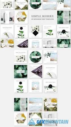 Simple Modern Instagram Pack 2171925