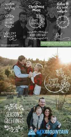 Christmas Photo Overlays Vol 2 2162727