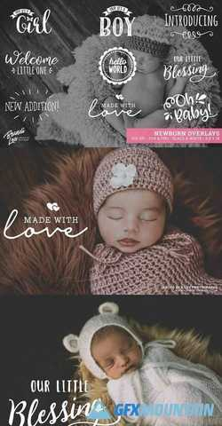 Newborn Photography Overlays 2162731