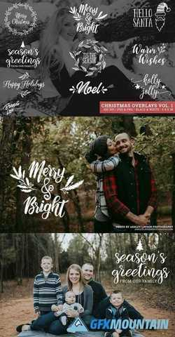 Christmas Photography Overlays 2162728
