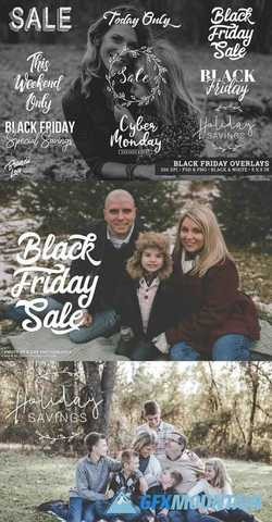 Black Friday Photography Overlays 2162734