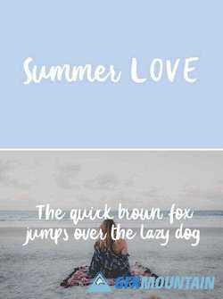 SUMMER LOVE TYPEFACE 2102222