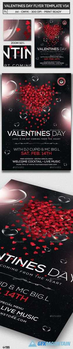 Valentines Day Flyer Template V14 21143835