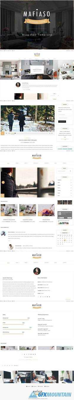 MAFIASO - BLOG PSD TEMPLATE 2135529