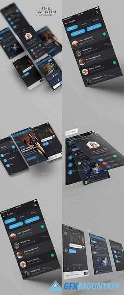 Impossible - Phone UI/UX Template - 11785554