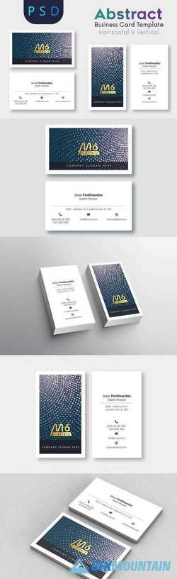 Abstract Business Card Template- S09 2196203