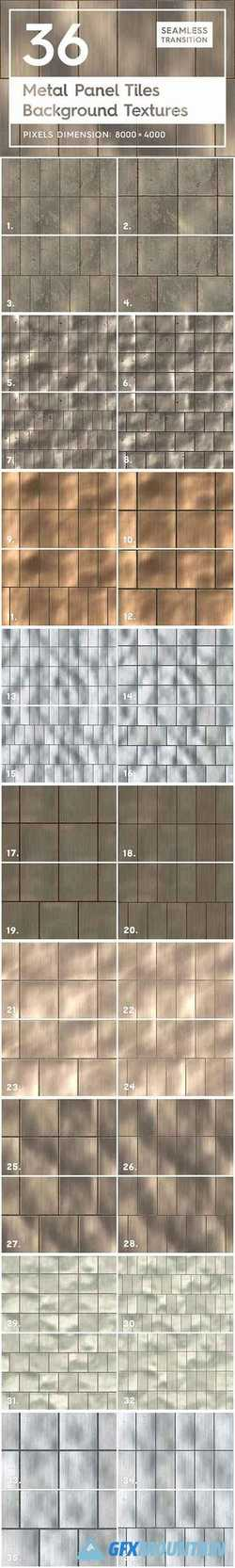 36 Metal Panel Tiles Backgrounds 2165124