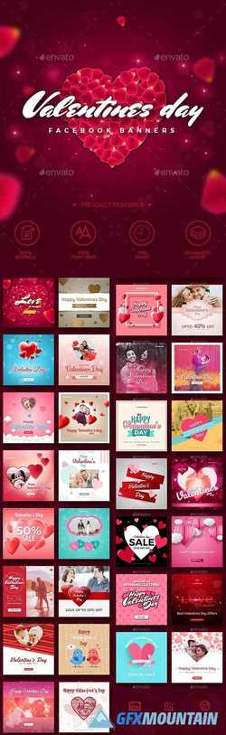 30 Valentines Day Instagram Promotion Banners 21276406