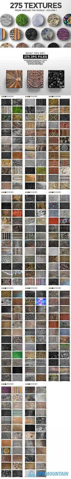 275 TEXTURES FROM AROUND THE WORLD - 1788384