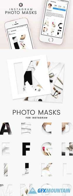 Instagram Photo Masks - Alphabet   2248180