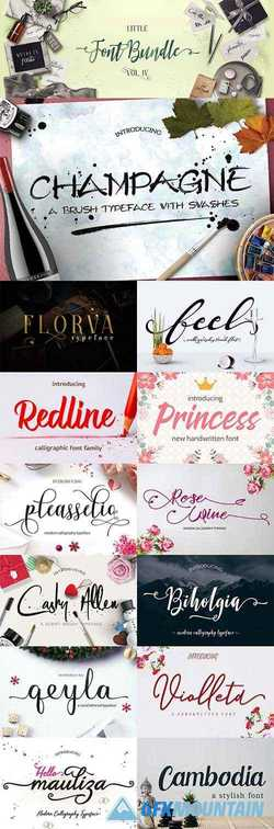 The Little Font Bundle Volume IV