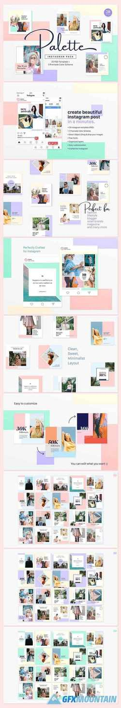 Instagram Pack - Palette  2217779