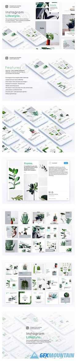 Lifestyle Instagram Posts Template   1999243