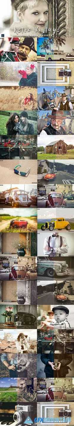 50 Retro Vintage Lightroom Presets