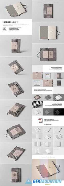 NOTEBOOK MOCK-UP - 21372944