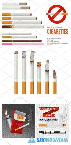 CIGARETTES REALISTIC SET - 2280519