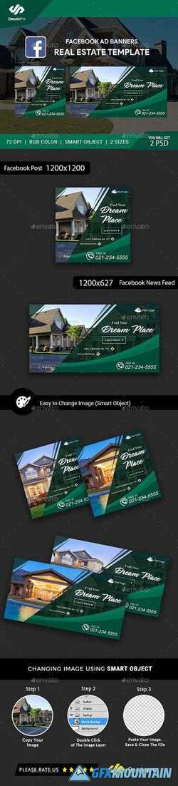 Real Estate FB Ad Banners - AR 21402848