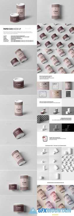 PAPER CAN MOCK-UP - 21404201