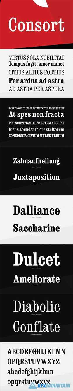 Consort Font Family