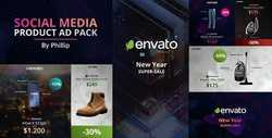 Social media product ad pack 21100605