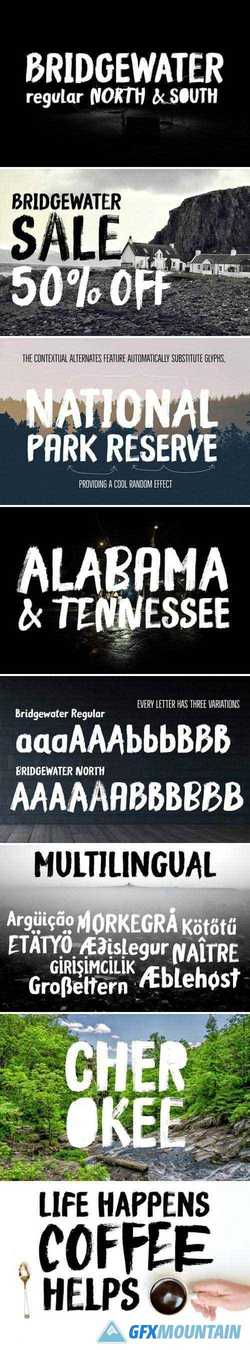 BRIDGEWATER - 3 FONTS 2255852